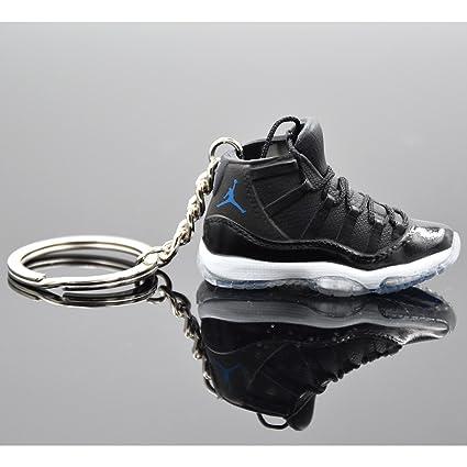 a0c63e77a3121c ... cheapest air jordan xi 11 retro shoes key chains keyring jordan 3d car  keychain trinket for