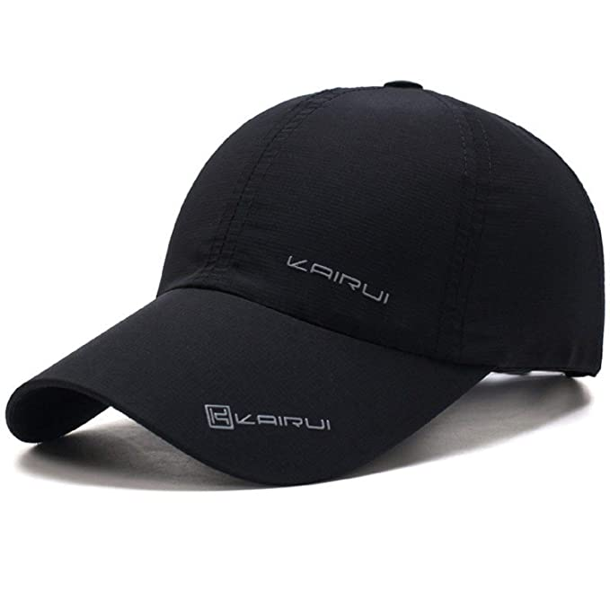 2b4c731e556c Oulm Baseball Adjustable Black Cap for Men   Boys - (CP-1)  Amazon.in   Clothing   Accessories