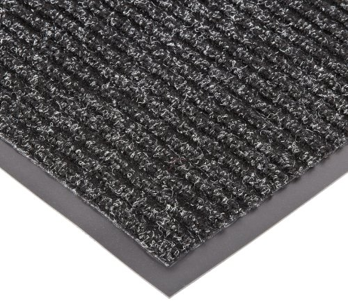 (NoTrax 109S0034CH 109 Brush Step Entrance Mat, for Lobbies and Indoor Entranceways, 3' Width x 4' Length x 3/8