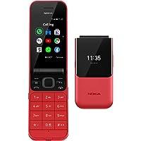 Nokia 2720 Flip Klaptelefoon - Gebruiksvriendelijk, Grote Knoppen en Tekst - Voorzien van 4G Internet - Lange…