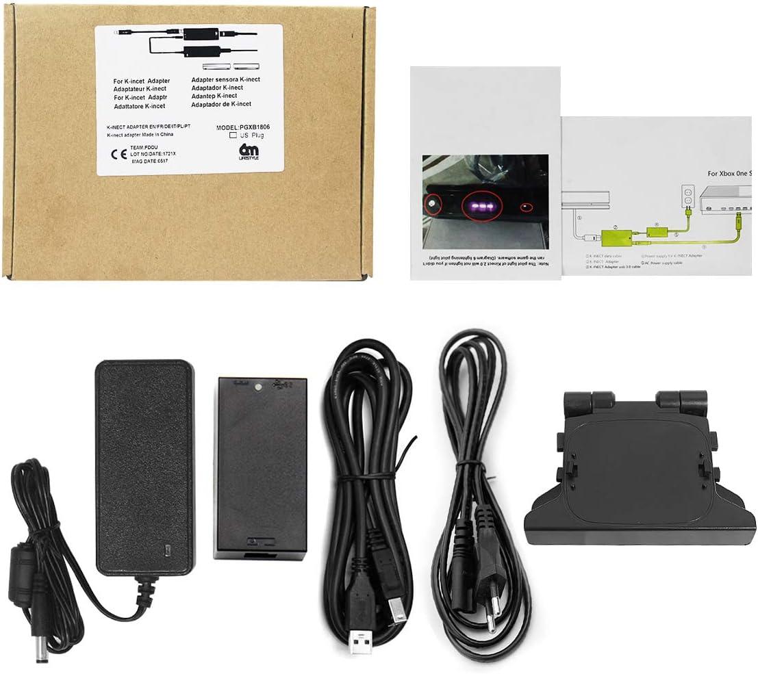 6amLifestyle Adaptador Kinect Xbox One S X, Kinect Adaptador para ...