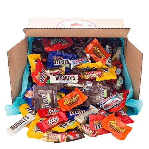 Assorted Candy & Chocolate 90oz HERSHEYS Mars M&MS Variety Bulk Mix
