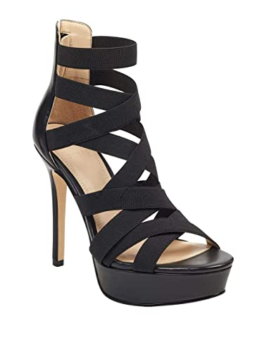 f72044db4d4 GUESS Women s Labbet Strappy Platform Heels