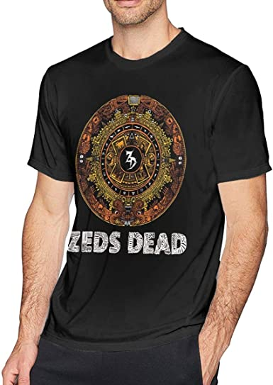 Kids Soft Cotton T Shirt Zeds-Dead Stylish Crewneck Short Sleeve Tops Black