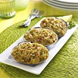 Sea Watch Premium Stuffed Clams in Natural Shells, 2 Ounce - 36 per case.