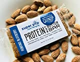 Super Pop Snacks, GLUTEN, SOY & DAIRY FREE, Plant Based Almond Blueberry Protein Nut Butter Bar— 12 Pack Review