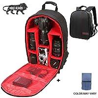 Brain Freezer J Universal DSLR SLR Camera Lens Shoulder Backpack Case for Canon Nikon Sigma Olympus Camera Red