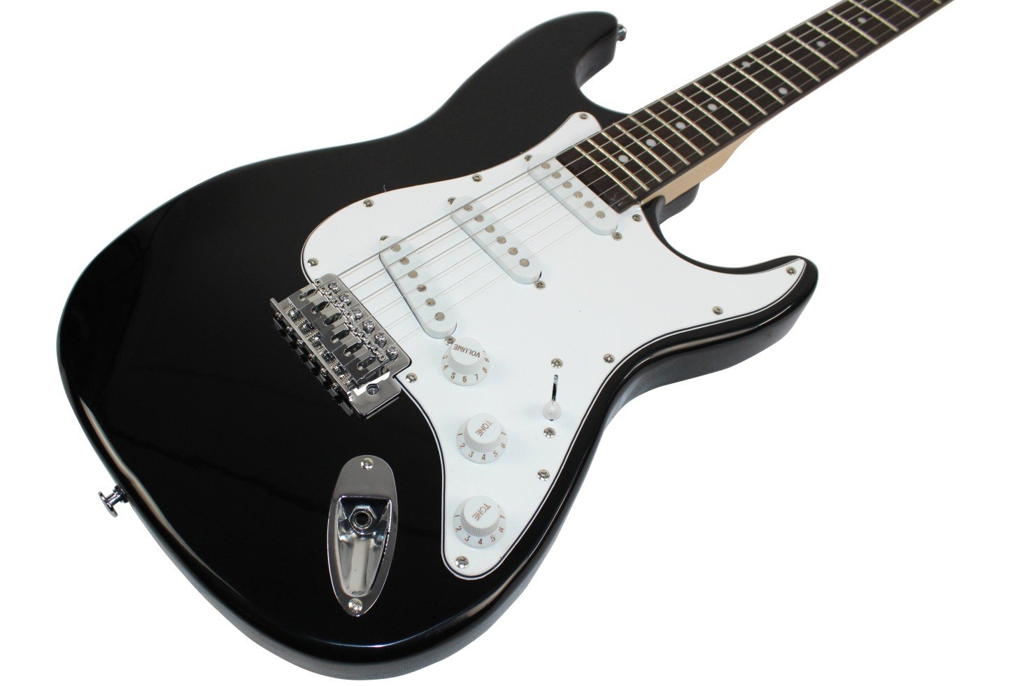 Amazon.com: Stedman Pro Beginner Series 39-Inch Electric Guitar with 10-Watt Amp, Case, Strap, Cable, Picks, Electronic Tuner, Stringwinder and Polish Cloth ...