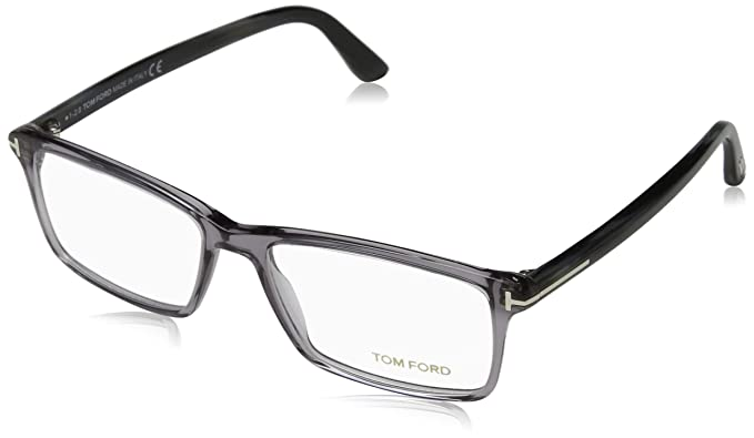 4df404e1897 TOM FORD Men s TF 5408 020 Clear Gray Clear Rectangular Eyeglasses ...