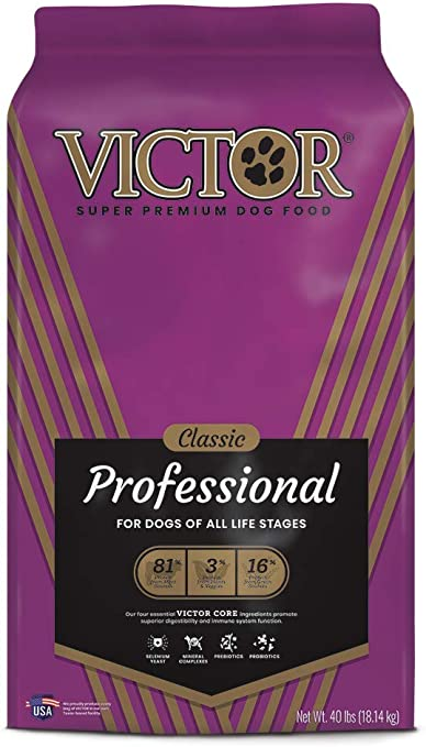 Victor Dog Food Reviews >> Victor Classic Professional Dry Dog Food