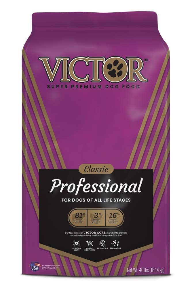 VICTOR Classic - Professional, Dry Dog Food by Victor Super Premium Pet Food