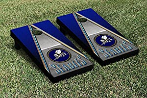 Victory Tailgate US Navy Seabees Regulation Cornhole Game Set Triangle Version by Victory Tailgate