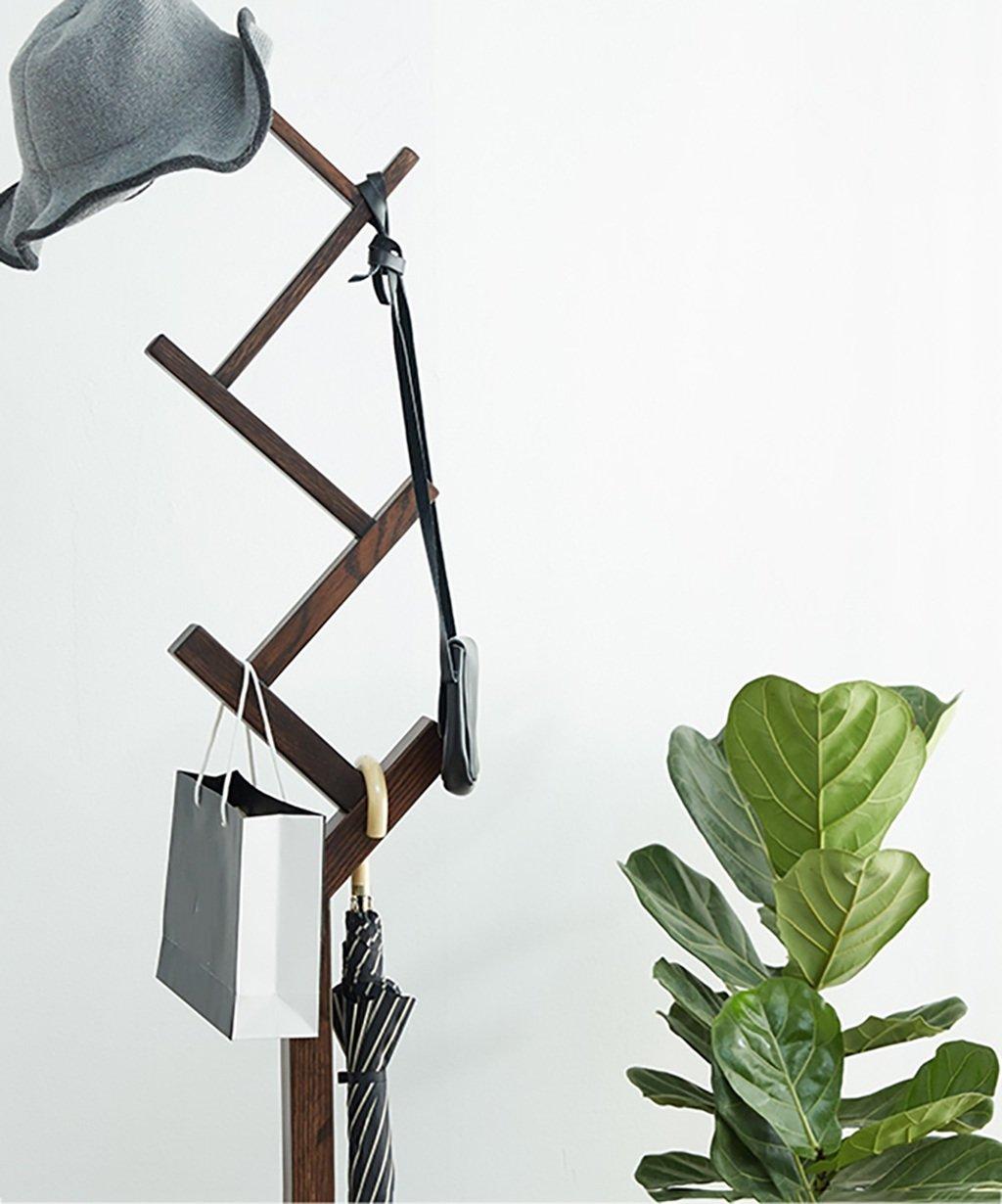 Amazon.com: LIANGJUN - Perchero de pie (6 posiciones, roble ...