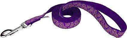 Country Brook Design® Purple Paisley Grosgrain Ribbon