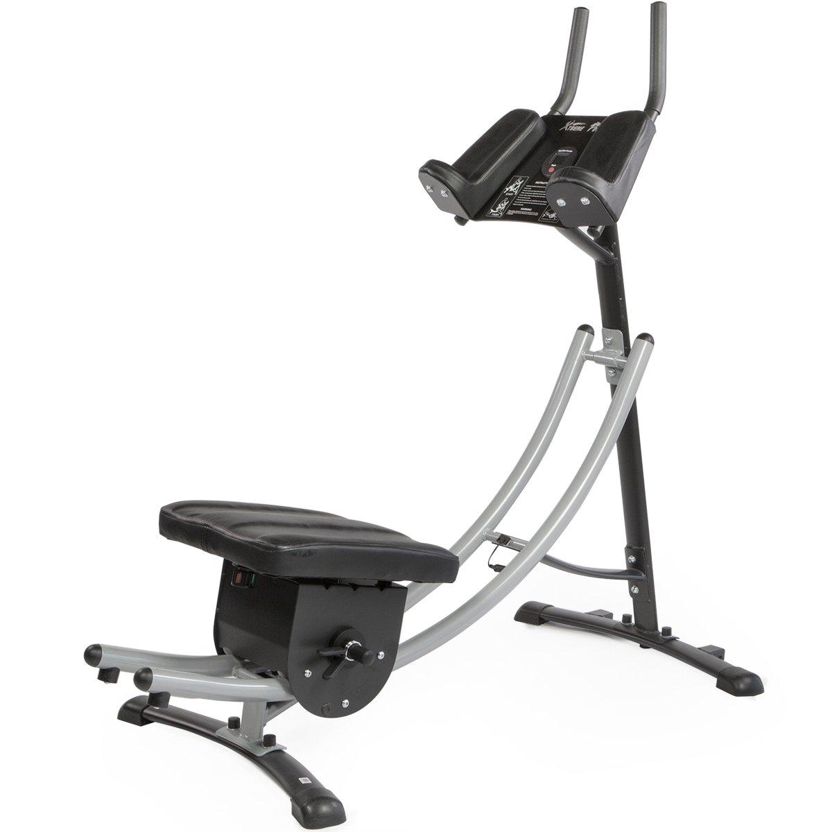 XtremepowerUS Abdonimal Crunch Coaster Fitness Equipment, Workout Machine