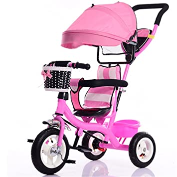 dbd3a48496d Child Indoor Outdoor Small Tricycle Bicycle Boy's Bike Girl's Bike For 7  Months -6 Year Old Baby Three ...