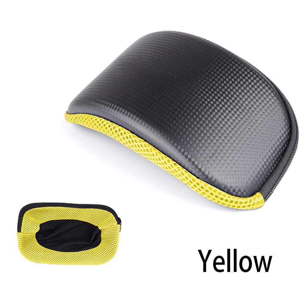 ZGY Gafas para Exteriores Anti-Presión, Anti-Shock, para Montar, Gafas De Esquí, Bolsa con Cremallera,Yellow