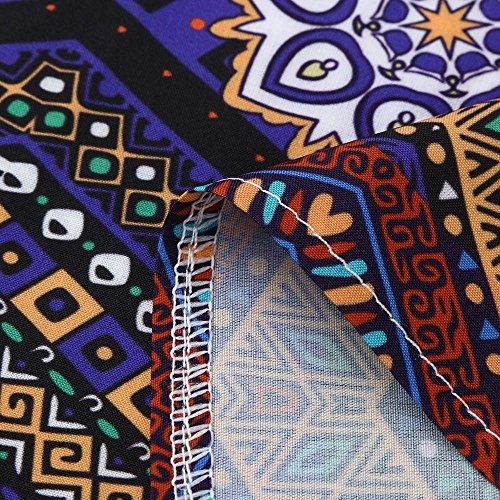 Robe Robe Chic Bohme Jupe Robe Plisse Soire Femme Cocktail Soire Rtro Robe Robe Style Femme U 50's 60's Robe de Femme Vintage Femme Weant Blanc Imprim de Femme Floral Col HfwEqt