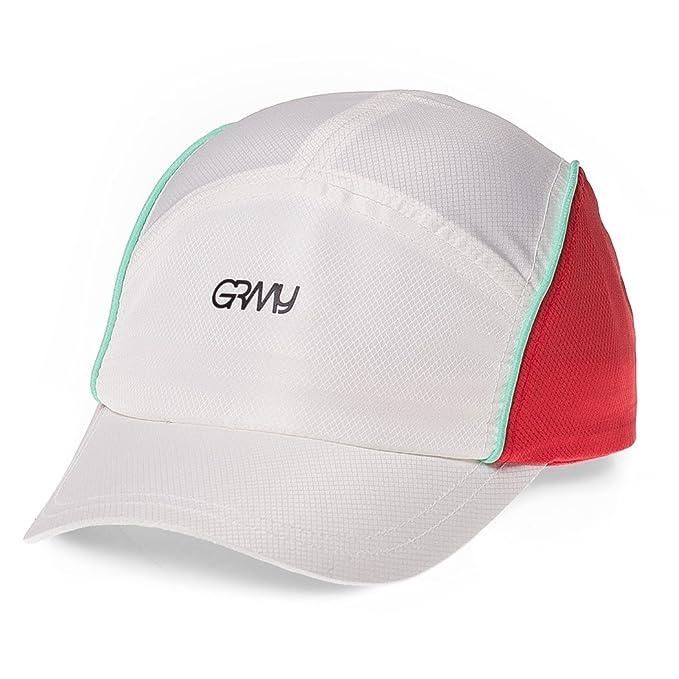 Grimey Gorra MANGUSTA V8 Sport Cap SS18 Red-Strapback: Amazon.es: Ropa y accesorios