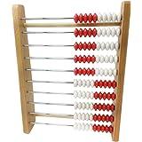 ETA hand2mind 100-Bead Wood Student Rekenrek Counting Frame