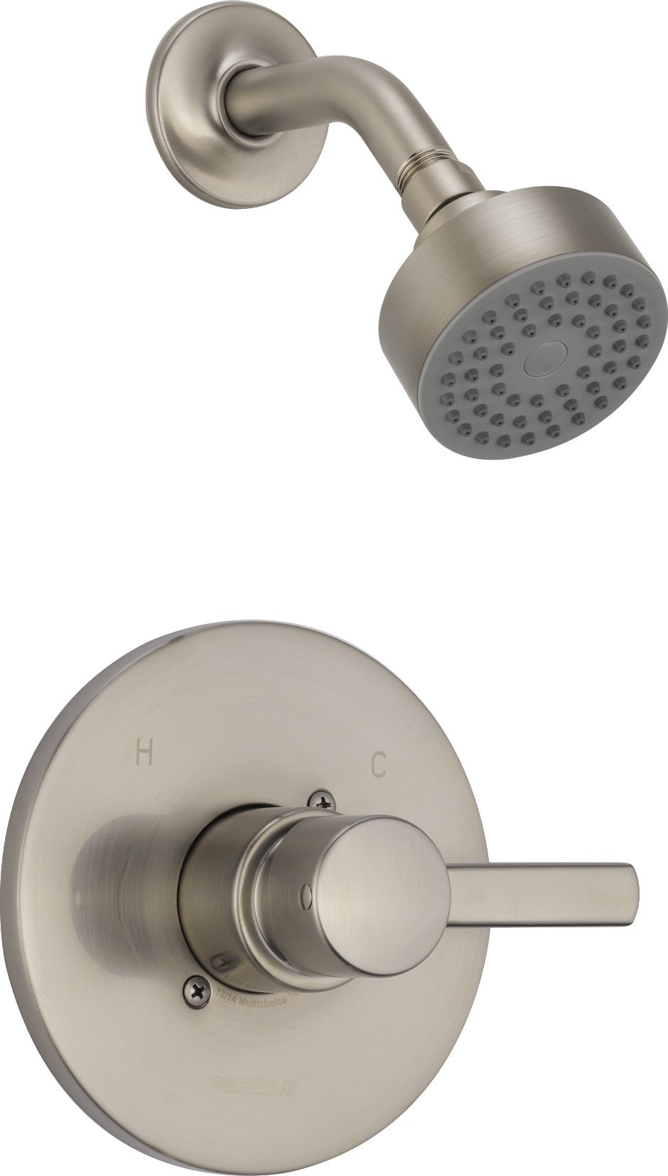 Delta Faucet PTT188782-BN Peerless Apex, Shower Only Trim Kit, Brushed Nickel (Valve sold separately) by DELTA FAUCET