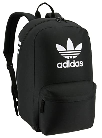 e1a4b2312fe16 Amazon.com: adidas Originals Big Logo Backpack, Black, One Size ...