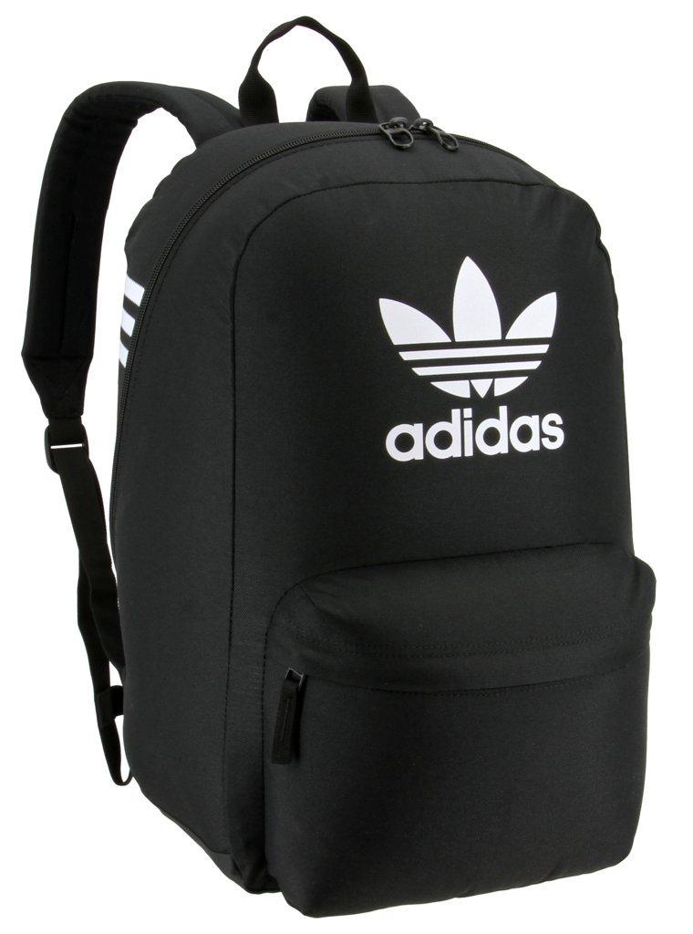 adidas Originals Big Logo Backpack, Black, One Size