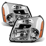 chevy equinox headlight assembly - ACANII - For 2005-2009 Chevy Equinox SUV Headlights Headlamps Head Lights Lamps Replacement Driver + Passenger Side