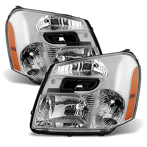 Chevrolet Equinox Replacement Headlight - ACANII - For 2005-2009 Chevy Equinox SUV Headlights Headlamps Head Lights Lamps Replacement Driver + Passenger Side