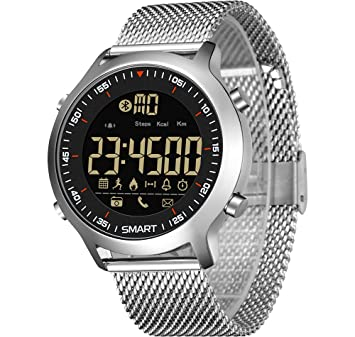 RCIN Reloj Digital Hombre, 50M Impermeable multifunción Rastreador ...