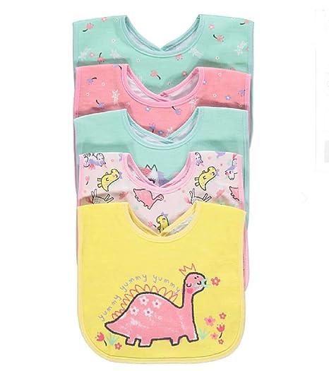 Bebé baberos bebé recién nacido niños niñas impermeable espalda 5 ...