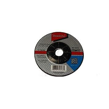 Makita Metall Schruppscheibe D 18465 125x6x22 2mm Amazon De Baumarkt