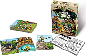 MasterPieces Jr Ranger - Campfire Stories Kids Card Game