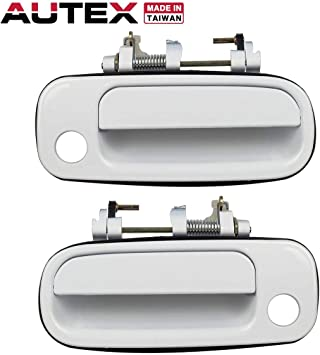 4Pcs For 97-01 Toyota Camry Outside Door Handle SILVER Front Rear Left Right New