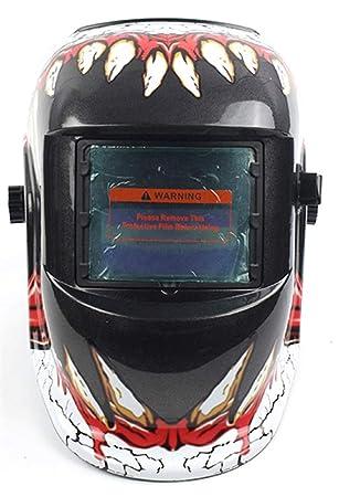 Icegrey Soldadores Máscara de Oscurecimiento Automático de Solar Casco de Soldadura Caries dental: Amazon.es: Bricolaje y herramientas
