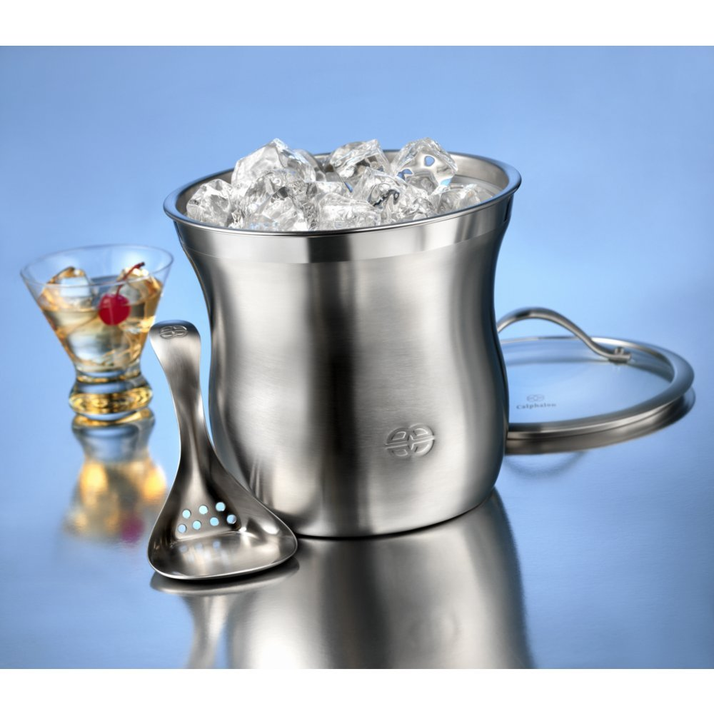 Caphalon Barware Stainless Steel Ice Bucket Set by Calphalon (Image #1)
