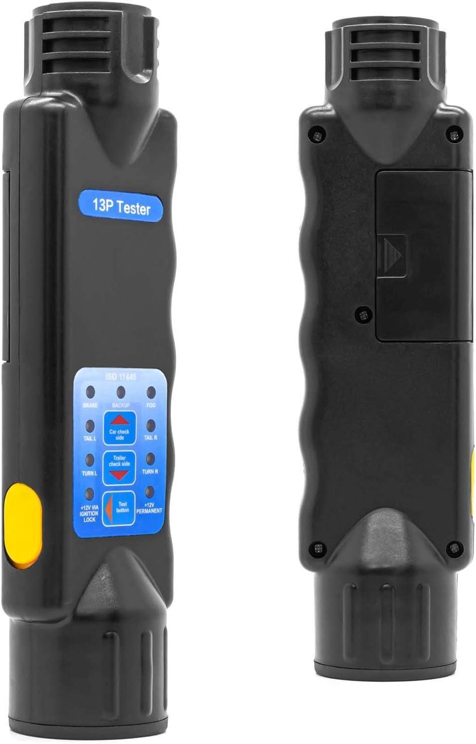 KFZ DIN Pr/üfger/ät Anh/änger Licht Beleuchtung Tester 13 Polig Trailer Pr/üfer