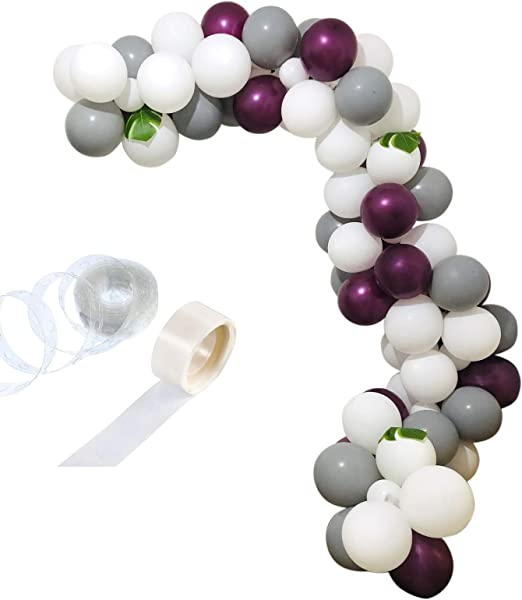Amazon.com: zorpia - Juego de 112 guirnaldas de globos para ...