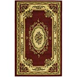 Safavieh Lyndhurst Collection LNH218C Traditional European Red and Ivory Area Rug (4′ x 6′) Review
