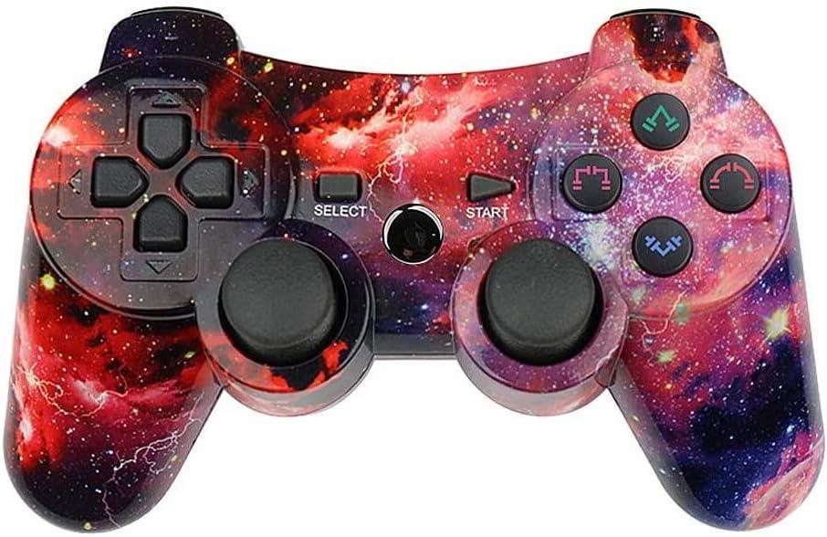 Mando PS3 Inalámbrico Wireless Double Shocky Función SIXAXIS para Playstation3 (Galaxy)