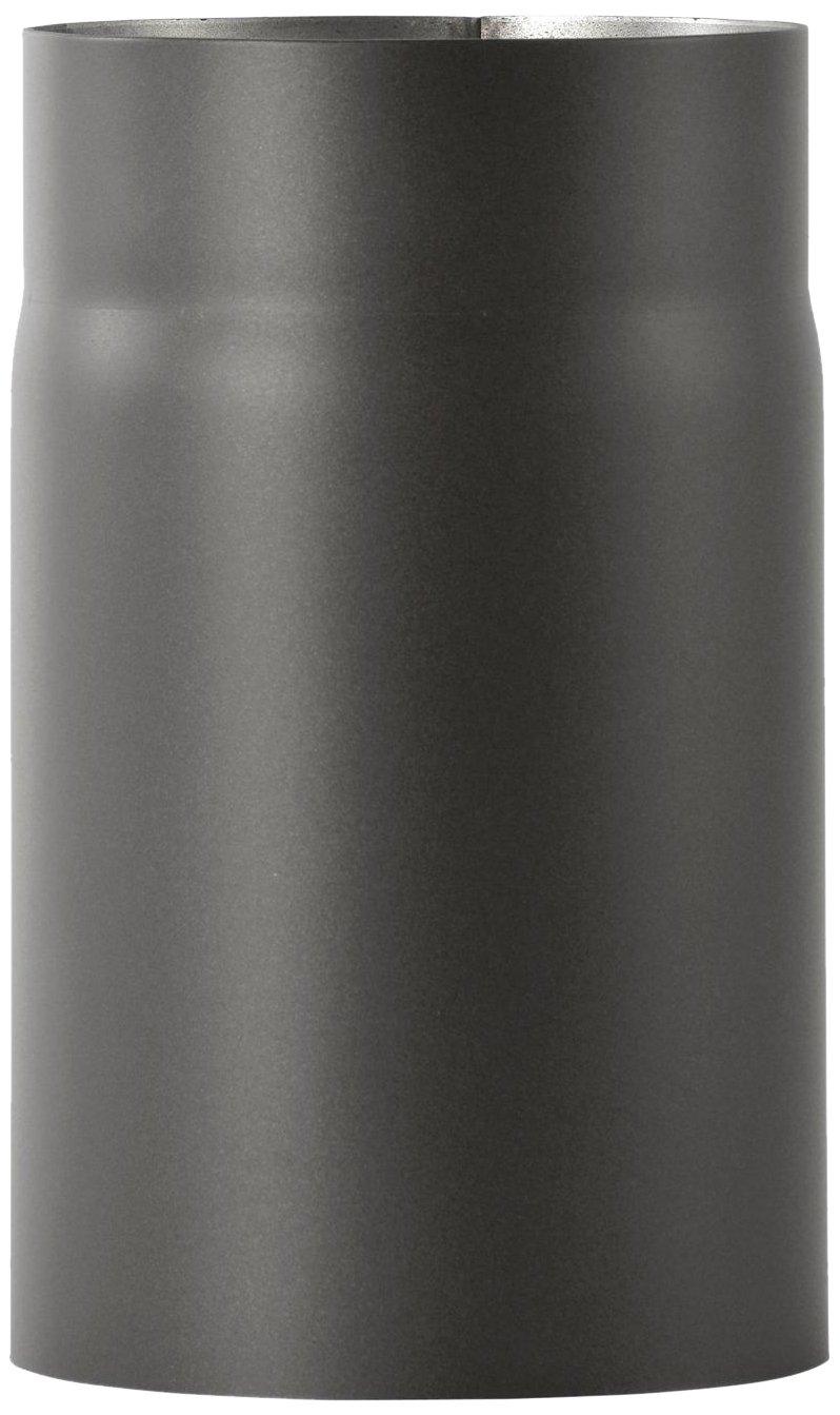 Bertrams 196816 Ofenrohr 2mm 25cm senotherm UHT-Hydro schwarz lackiert, Durchmesser 150mm