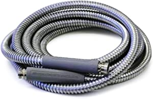 Armadillo Hose RV10 1/2-Inch by 10-Foot Galvanized Steel RV Water Hose