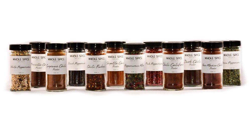 Peppers and Chili 12 Jar Set-Save 10%