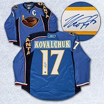 Ilya Kovalchuk Atlanta Thrashers Autographed Reebok Authentic On Ice Jersey   Amazon.ca  Sports   Outdoors 7f29f8a6d