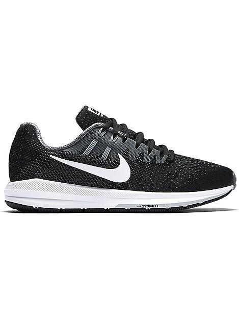 reputable site e73b0 216e4 Nike Wmns Zoom Structure 20, Scarpe da Trail Running Donna, Nero (Black/