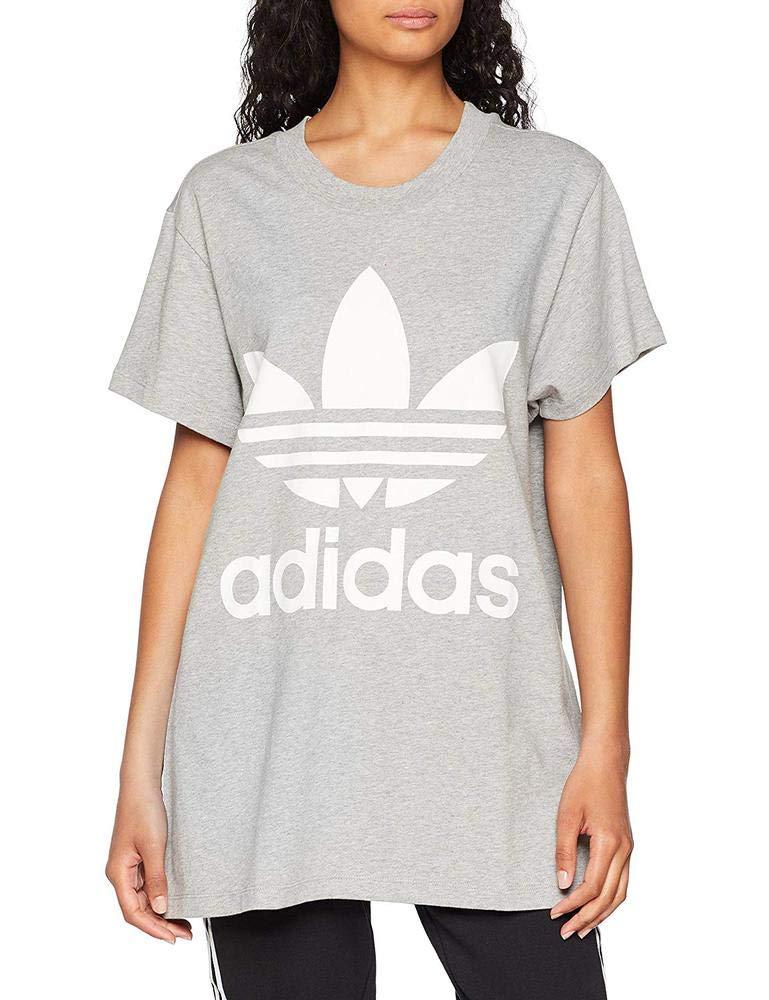 7f105c72e1 adidas Big Trefoil Tee T-Shirt, Women,: adidas Originals: Amazon.co.uk:  Sports & Outdoors