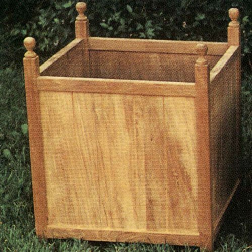 Teak Wood Planter Box 17X17