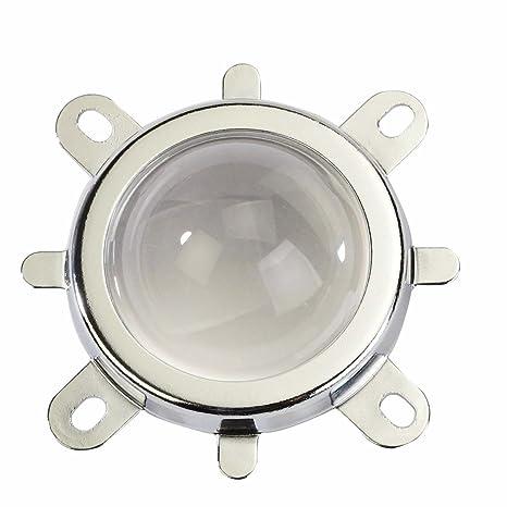 Fixed Bracket LED Lens 50mm Reflector Collimator COB Chip Lens High Power