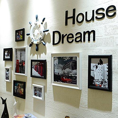 Die Nordische Ornamente Ornamente an der Wand hängende Wand Wände kreative ? Wohnzimmer Wand im Restaurant in einem schwarzen und weißen Wänden ausgestattet ist.