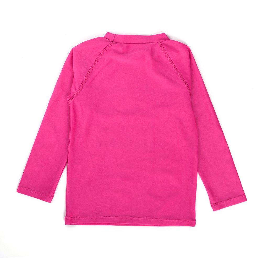 Sun Swimming Pool /& Beach Kids Toddler Swim Shirt Girls Long Sleeve Rashguard UPF 50